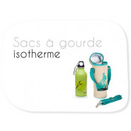Etui gourde isotherme